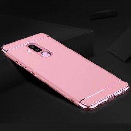Coque Huawei Mate 20 Lite Rigide Chromée Rose