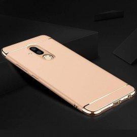 Coque Huawei Mate 20 Lite Rigide Chromée Dorée