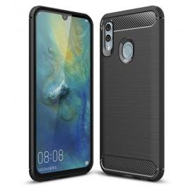 Coque Silicone Huawei P Smart 2019 Brossé Noire