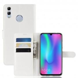 Etuis Portefeuille Huawei P Smart 2019 Simili Cuir Blanc