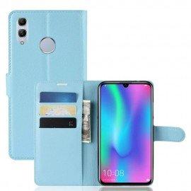 Etuis Portefeuille Huawei P Smart 2019 Simili Cuir Bleu