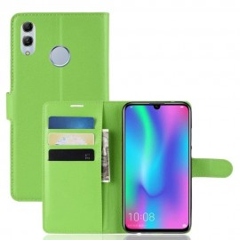 Etuis Portefeuille Huawei P Smart 2019 Simili Cuir Vert