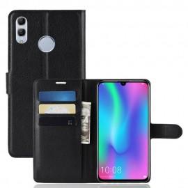 Etuis Portefeuille Huawei P Smart 2019 Simili Cuir Noir