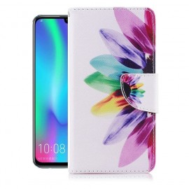 Etuis Portefeuille Huawei P Smart 2019 Plumes