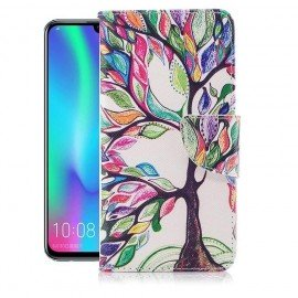 Etuis Portefeuille Huawei P Smart 2019 Arbre