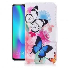 Etuis Portefeuille Huawei P Smart 2019 Papillon