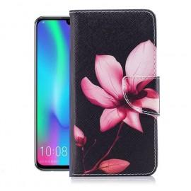 Etuis Portefeuille Huawei P Smart 2019 Fleur