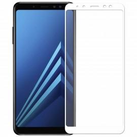 Verre Trempé Samsung Galaxy J6 Plus Protecteur d'écran Blanc