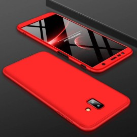 Coque 360 Samsung Galaxy J6 Plus Rouge