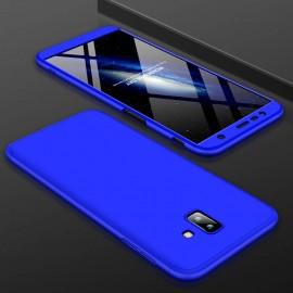 Coque 360 Samsung Galaxy J6 Plus Bleu