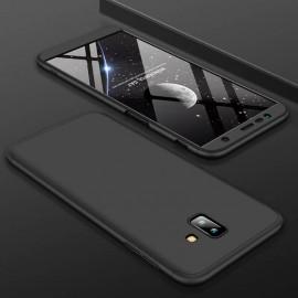 Coque 360 Samsung Galaxy J6 Plus Noir