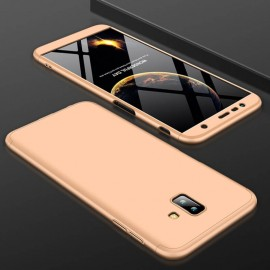 Coque 360 Samsung Galaxy J6 Plus Or