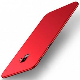 Coque Silicone Samsung Galaxy J6 Plus Extra Fine Rouge