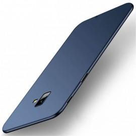 Coque Silicone Samsung Galaxy J6 Plus Extra Fine Bleu