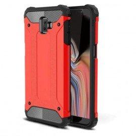Coque Samsung Galaxy J6 Plus Anti Choques Rouge