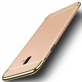 Coque Samsung Galaxy J6 Plus Rigide Chromée Or