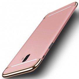 Coque Samsung Galaxy J6 Plus Rigide Chromée Rose