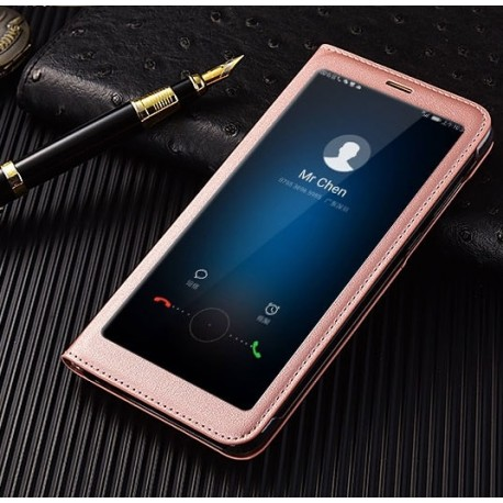 Etuis Portefeuille Huawei Mate 10 Lite Cover Vision Rosa