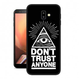 Coque Silicone Samsung Galaxy J6 Plus Confiance