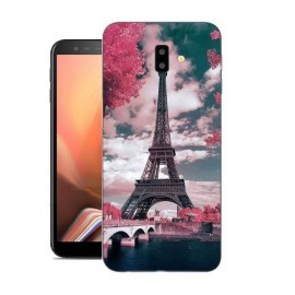 Coque Silicone Samsung Galaxy J6 Plus Paris