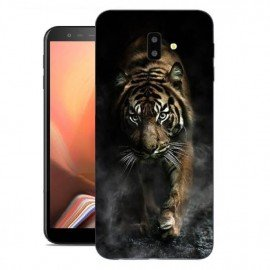 Coque Silicone Samsung Galaxy J6 Plus Tigre