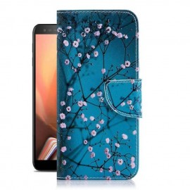 Etuis Portefeuille Samsung Galaxy J6 Plus Blossom