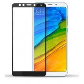 Verre Trempé Xiaomi Redmi 5 Plus Protecteur d'écran Noir