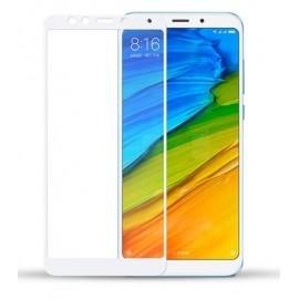 Verre Trempé Xiaomi Redmi 5 Plus Protecteur d'écran Blanc