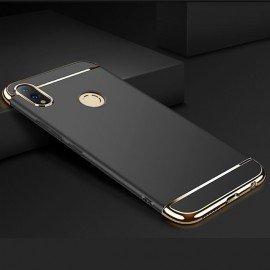 Coque Huawei P Smart 2019 Rigide Chromée Noire