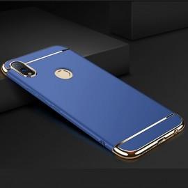 Coque Honor 10 Lite Rigide Chromée Bleue