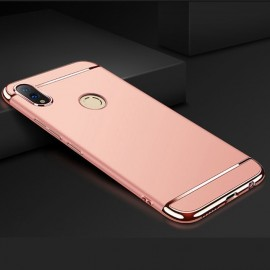 Coque Honor 10 Lite Rigide Chromée Rose