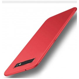 Coque Silicone Samsung Galaxy S10  Extra Fine Rouge