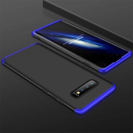 Coque 360 Samsung Galaxy S10 Noir et Bleu