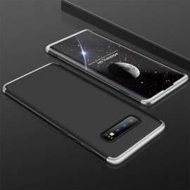 Coque 360 Samsung Galaxy S10 Noir et Gris