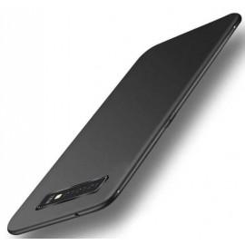 Coque Silicone Samsung Galaxy S10 Extra Fine Noir