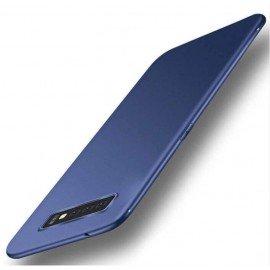 Coque Silicone Samsung Galaxy S10 Extra Fine Bleu