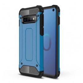 Coque Samsung Galaxy S10 Anti Choques Bleu