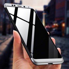 Coque 360 Xiaomi Redmi 5 Plus Noir et Gris