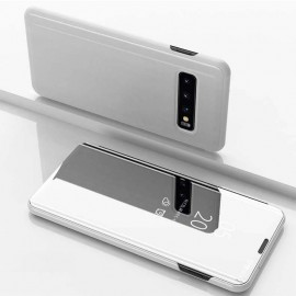 Etuis Samsung Galaxy S10   Cover Translucide Argent