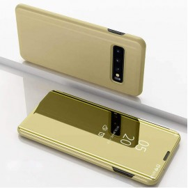 Etuis Samsung Galaxy S10  Cover Translucide Or