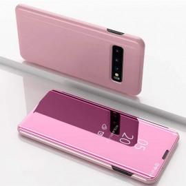 Etuis Samsung Galaxy S10  Cover Translucide Rose