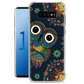Coque Silicone Samsung Galaxy S10 Chouette