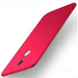 Coque Silicone Xiaomi Redmi 5 Plus Extra Fine Rouge