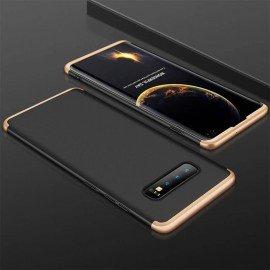 Coque 360 Samsung Galaxy S10 Plus Noir et Or