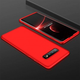 Coque 360 Samsung Galaxy S10 Plus Rouge