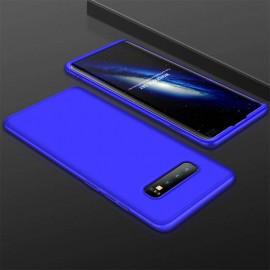 Coque 360 Samsung Galaxy S10 Plus Bleue