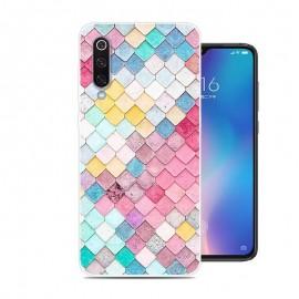 Coque Silicone Xiaomi MI 9 Aquarelle
