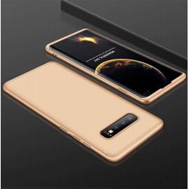 Coque 360 Samsung Galaxy S10 Plus Dorée