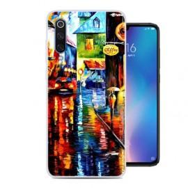 Coque Silicone Xiaomi MI 9 Tableau