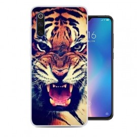 Coque Silicone Xiaomi MI 9 Tigre